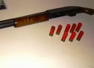 Homem executa sogra com um tiro de 12 no rosto e depois se mata