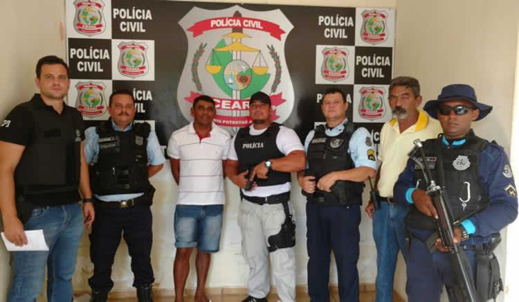 Suspeito de vários crimes é preso em Icó