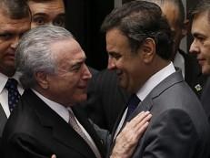 Fogo amigo entre PMDB e PSDB preocupa Temer