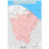 Nova lei atualiza divisas de 128 municípios do Ceará