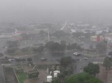 Cariri amanhece sob forte chuva e com intensa trovoada; Várzea Alegre registra 100mm