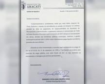 Prefeito de Aracati manda bloquear seu salário até que atrasados dos servidores estejam em dia