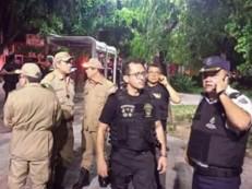 Novos secretário de Segurança e comandante da PM participam de operação nas ruas de Fortaleza nesta sexta-feira