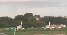 Aviões estacionados no Aeroporto Regional não estão abandonados, rebate proprietário