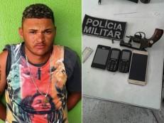 Três armas de fogo e um simulacro foram apreendidos em Juazeiro, Jardim, Crato e Nova Olinda