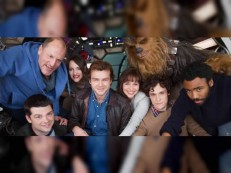 Divulga primeira foto do elenco de novo 'Star Wars'rimeira foto do elenco de novo 'Star Wars'