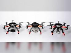 Lança um dos primeiros drones à base de energia solar