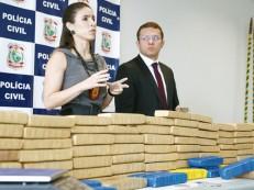 103 tabletes de maconha são apreendidos pela Divisão de Combate ao Tráfico