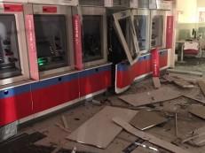 Bandidos invadem banco e explodem caixas eletrônicos em Caxias do Sul