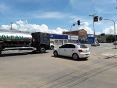Semáforo quebrado requer atenção redobrada em Juazeiro
