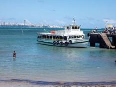Travessia Salvador-Mar Grande para por 2 horas na manhã deste domingo
