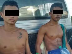 Menores acusados de assaltos e homicídio em Icó apreendidos em Quixelô depois de assalto