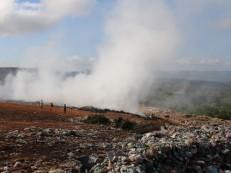 Governo Municipal está em ação para controlar fogo no lixão da cidade