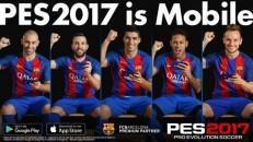 PES 2017 Mobile é lançado no mundo todo