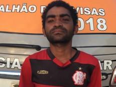 Polícia prende homem que matou colega de farra à facadas agora há pouco em Crato