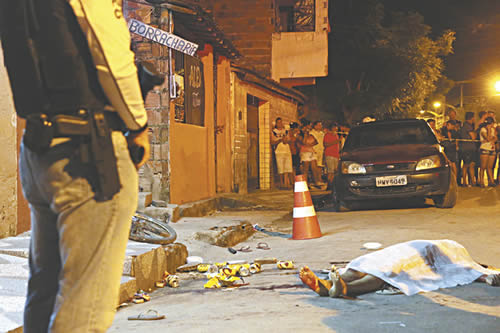 Preso suspeito de ter executado vítimas da Chacina de Horizonte