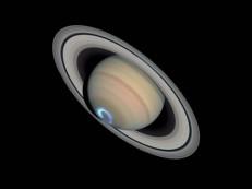 Saturno pode ser visto a olho nu até outubro