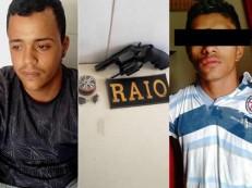 Polícia apreende três revólveres e uma garrucha em Juazeiro e um rifle em Campos Sales