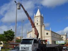 Prefeitura de Cedro inicia recuperação da iluminação pública
