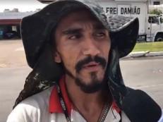 Rapaz que limpa para-brisas no semáforo gasta R$ 3,5 mil por mês para usar crack