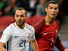 Nos pênaltis, Chile bate Portugal e vai à final da Copa das Confederações