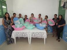 Secretaria de Ação Social de Aurora realiza entrega de Kits Bebê à grupo de gestantes