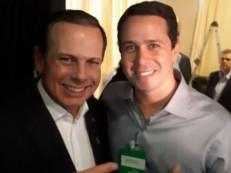 Encontro de Argemiro e João Dória indica afinidade com a cúpula do PSDB