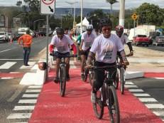 Com a presença do governador, Ciclovia do Cariri é inaugurada na manhã deste sábado, 19