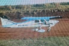 Avião carregado com cocaína é apreendido pela Polícia Militar em Camocim