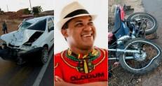 Músico morre no HRC após colisão de carro e moto na Vila Padre Cícero em Juazeiro
