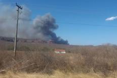 Incêndio consome parte do Parque Nacional Serra da Capivara no Sul do Piauí