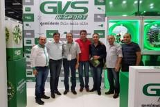 Em São Paulo prefeito visita estande da GVS Sport e prospecta nova empresa para Várzea Alegre