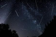 Chuva de meteoros será visível neste final de semana em todo o Brasil