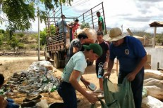 Mutirão de Coleta Seletiva de lixo realizado na Caiçara em Canindezinho