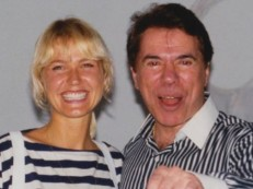 Xuxa posta foto antiga com Silvio Santos: