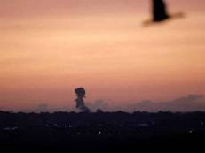 Israel derruba dois foguetes disparados de Gaza