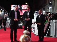 Cena com os príncipes William e Harry não foi cortada de ´Star Wars´