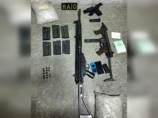 Dupla é presa com fuzil, metralhadora da PM de São Paulo, pistola e munição em Milhã