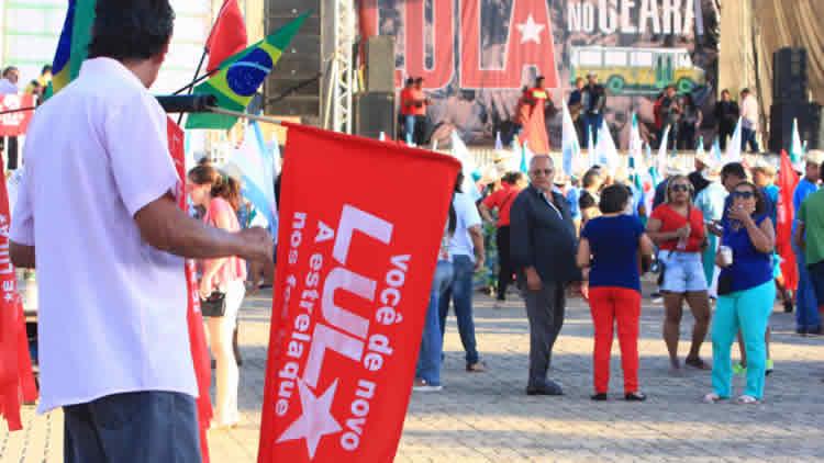 Simpatizantes do PT em Juazeiro do Norte farão ato em defesa de Lula na próxima quarta, 24