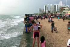 Globocop cai em praia do Recife e deixa dois mortos