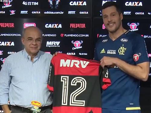 84c0598458 O Flamengo anunciou o retorno do goleiro Julio Cesar (Foto  Reprodução)