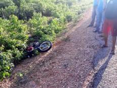 Jovem morre em acidente de moto ao voltar de festa em Belém do Piauí