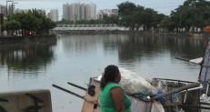 Maior chuva do ano em Fortaleza provoca dois alagamentos e cinco riscos de desabamento