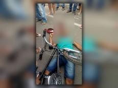 Adolescente foi morto com 14 tiros de pistola em Juazeiro enquanto pedalava sua bicicleta