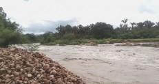 Filho de agricultor por pouco não é levado por enchente após chuva repentina em Barbalha