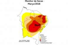 Apesar das chuvas, cenário no Ceará ainda é de alerta