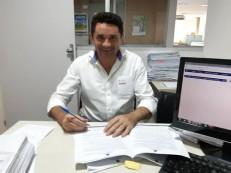 Prefeito Lielson Landim assina convênio de R4 350 mil para pavimentação de ruas do Bairro Padre Cícero