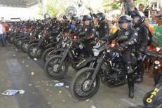Governo do CE entrega 140 novas motos para reforçar ações do BPRaio