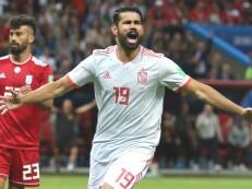 Diego Costa fura bloqueio do Irã, e Espanha se aproxima de classificação