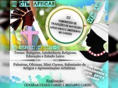 Congresso discute violência e religiões de matriz africana e indígena no Cariri